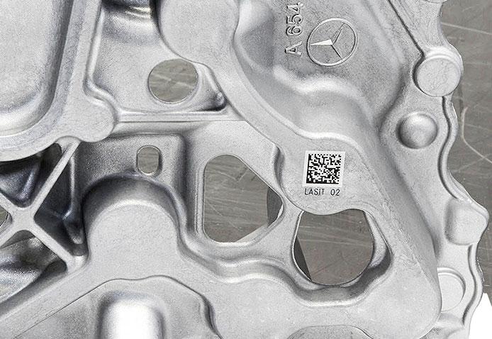 Automotive-Sample04 Лазерная гравировка в литейной промышленности