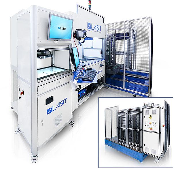 FlyRobot-02 Лазерная маркировка медицинских компонентов из кобальта, стали M30NW и титана TA6V