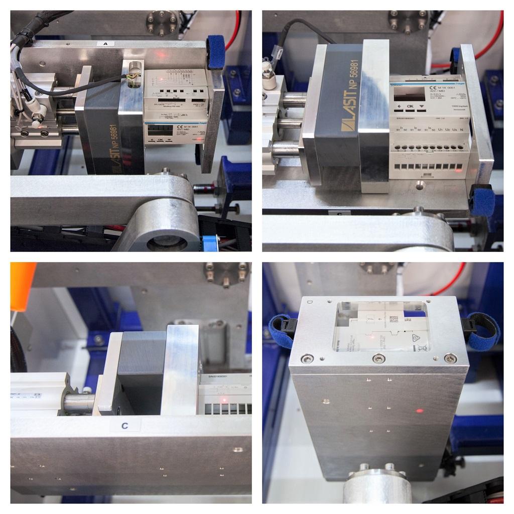 Focus-collage-rid Лазерная маркировка электрических компонентов