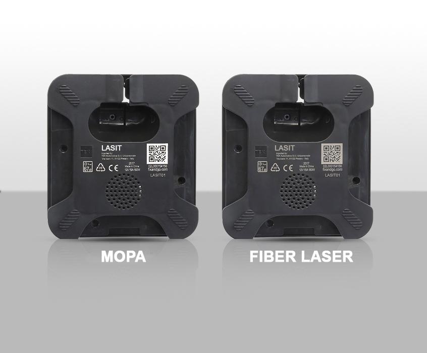 MOPAvsLASERFIBRA Автоматическая маркировка табличек с системой этикетирования