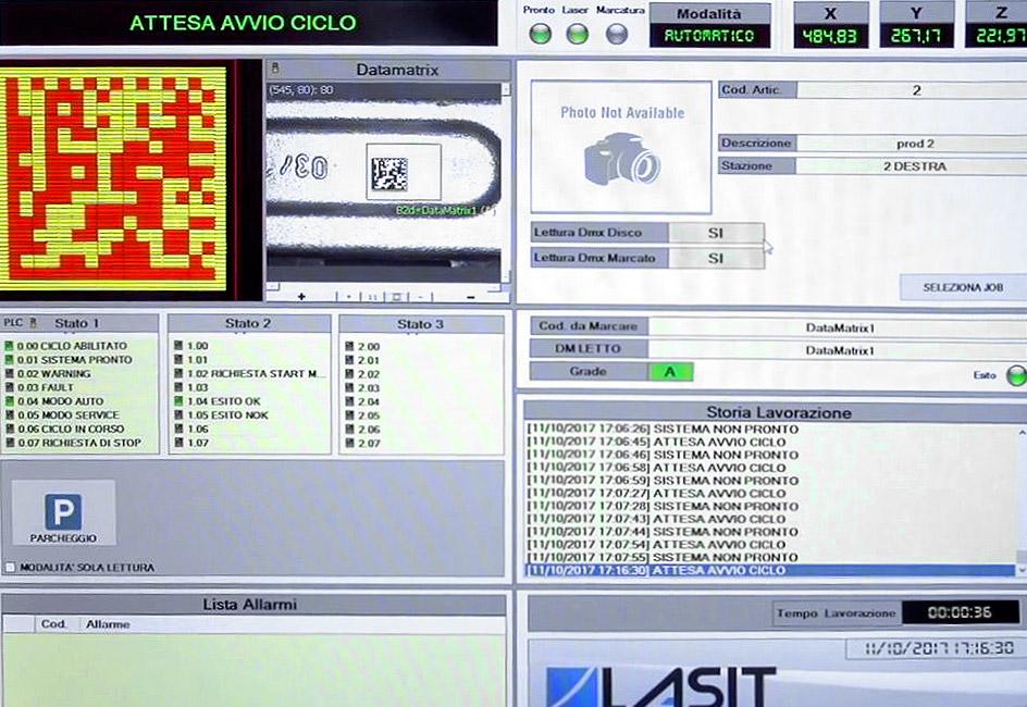 Orione-software Маркировать большие компоненты без простоя оборудования: лазерный маркер Orion