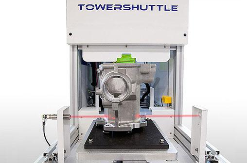 cop-towershuttle Лазерная система, интегрированная с челноком для автомобильной промышленности