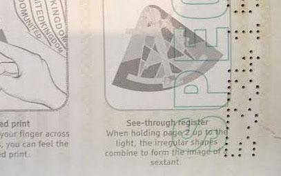 passport Лазерные маркеры против подделок