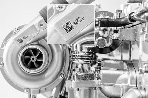 turbocompressore Лазерная маркировка и проверка герметичности в одной машине